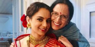 Kangana dedicates a self-composed poem to her mother