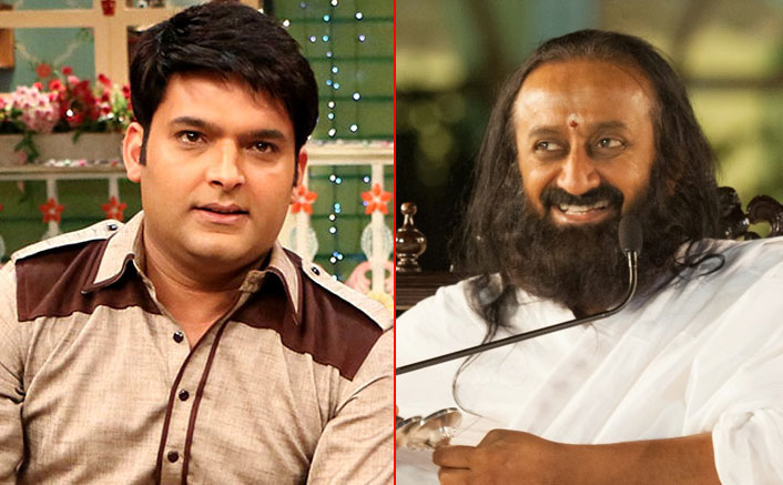 Kapil Sharma Gets THIS Query Answered By Sri Sri Ravi Shankar & We All Can Relate To It
