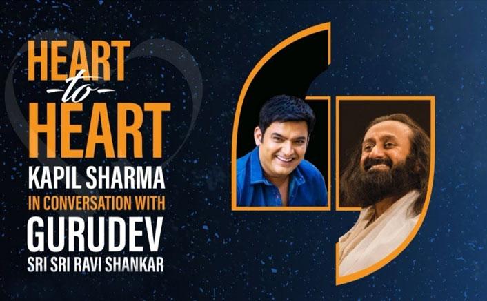 Kapil Sharma & Sri Sri Ravi Shankar Come Together For A 'Heart To Heart' Conversation