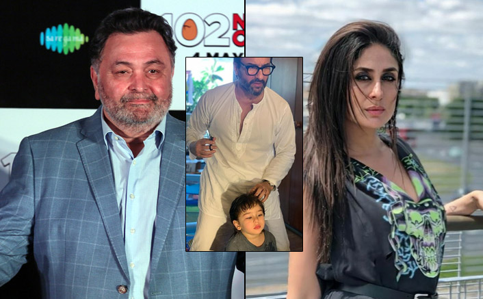 Kareena Kapoor Khan Trolled For Posting Pics Of Saif Ali Khan-Taimur's 'Haircut Pic' Days After Rishi Kapoor's Death