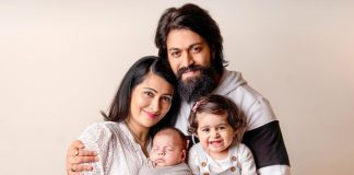 KGF Star Yash, Radhika Pandit & Their Kids In This Adorable Pictures Set Major Family Goals