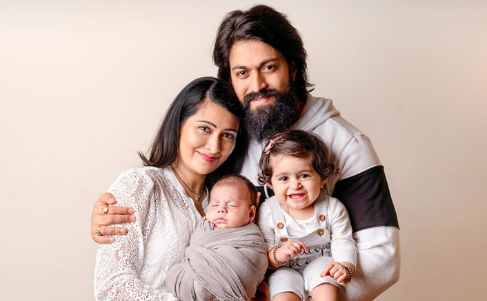 KGF Star Yash, Radhika Pandit With Their Kids In These Adorable Pictures Are Family Goals!