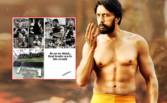Dabangg 3 Fame Kichcha Sudeep Gifts THIS Secret Fitness Mantra To His Fans