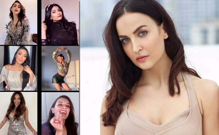 Krystle DSouza, Elli AvrRam, Evelyn Sharma & Avina Shah Enjoy A Virtual 'Mini Glam Party' Amid Lockdown