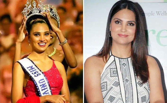 Lara Dutta Shares Some RARE Flashback Pictures From Her 2000's Miss Universe Crowning