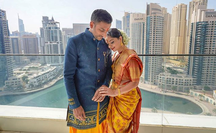 Leading Marathi Actress Sonalee Kulkarni Introduces Fiance Kunal Benodekar To The World On Her Birthday, PICS