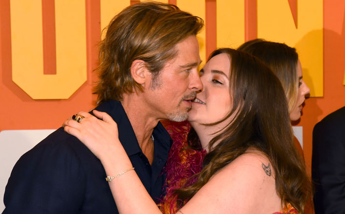 "Lena Dunham On Infamous Kissing Pic With Brad Pitt: ""Would Never Force A Kiss On Him"""