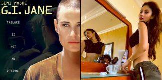 Mouni Roy Hits Demi Moore's G.I. Jane Mode During Lockdown!