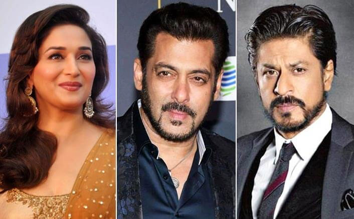 Madhuri Dixit Wants To Collaborate With Shah Rukh Khan & Salman Khan For THIS Project