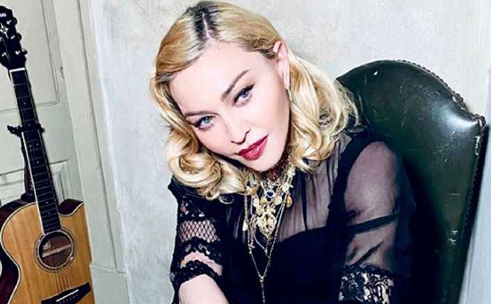 Madonna Strips To A See-Through Bra & Knickers In This Raunchy Post & It's Jaw-Dropping!