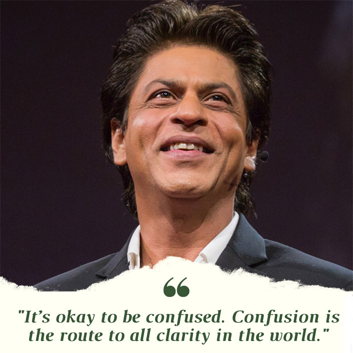 #MondayMotivation: Shah Rukh Khan's Quote Is A MUST Read For 'Confused Souls' Stuck In The Lockdown