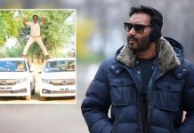 MP Cop Enacts Ajay Devgn's Iconic Phool Aur Kaante Stunt, Falls In Trouble