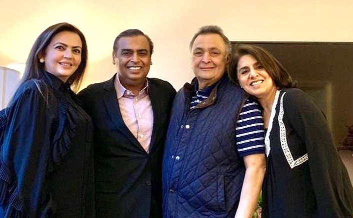 Neetu Kapoor Writes A Heart-Felt Note For Mukesh Ambani & Family, Thanks Them For Always Being There To Help Rishi Kapoor