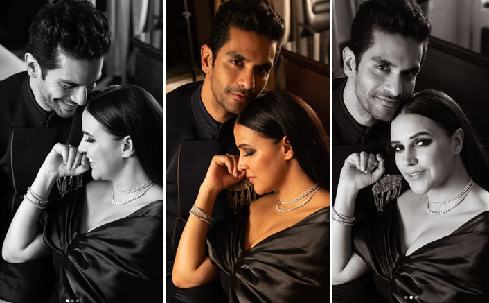 """Neha Dhupia Puts 'Roadies Reference' In Her Anniversary Post For Hubby Angad: """" I Have 5 BF's In 1"""""""