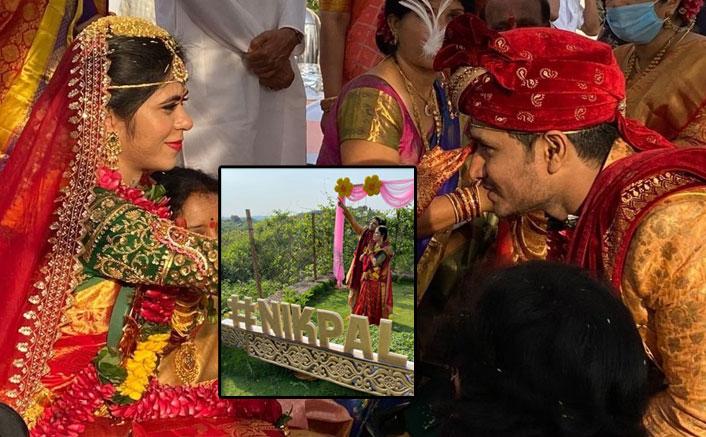 Nikhil Siddhartha Weds Pallavi Verma In Hyderabad Amid Lockdown, See PICS