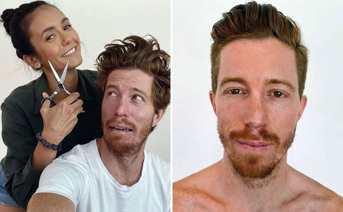 Nina Dobrev Gives Shaun White A Haircut Doing Quarantine & That's How The Couple Has Made It Official On Instagram, WATCH