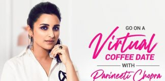 Parineeti's virtual coffee date will feed 4000 family members of daily wage earners in our country!