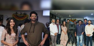#Prabhas20: Director Radha Krishna Kumar Shares Pictures Of Prabhas & Pooja Hegde From The Launch Event, Fans Go Berserk With Excitement