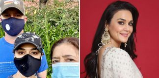 Preity Zinta shares her 'life aaj kal'