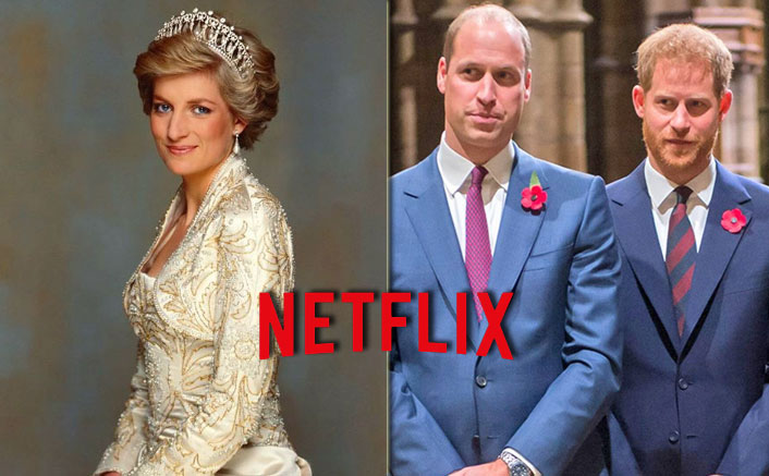 "Princess Diana' Netflix Documentary Likely To ""Open New Wounds"" For Prince William & Prince Harry"