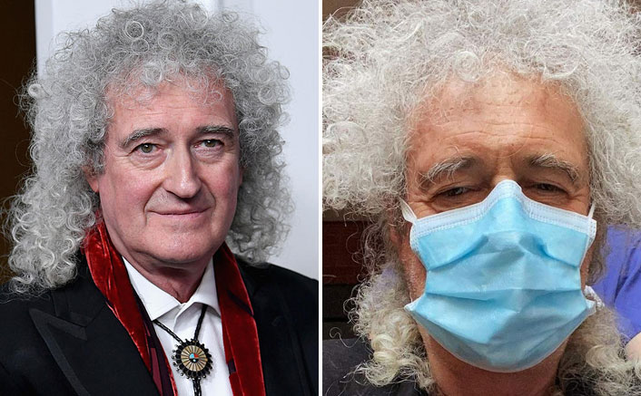 Queen Lead Guitarist Brian May Put A Full Stop To The Speculations Of COVID- 19 Infection