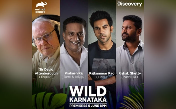 Rajkummar Rao, Prakash Raj join Sir David Attenborough to celebrate India's wildlife