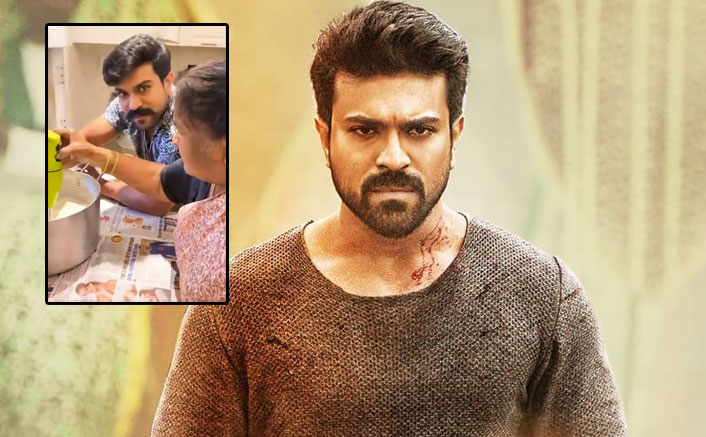 Ram Charan Learns How To Churn Butter At Home Amid Lockdown, WATCH