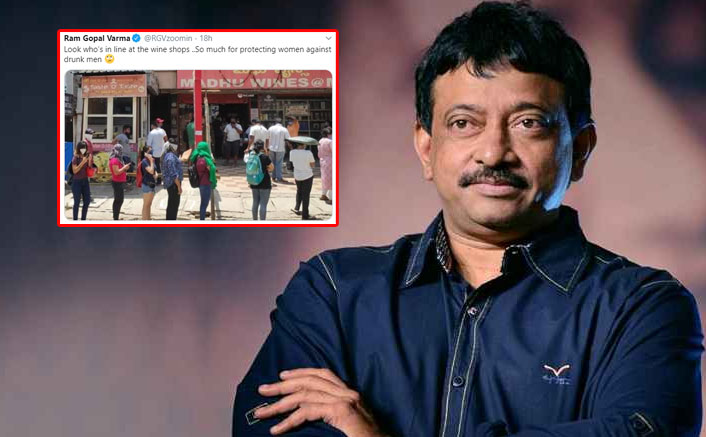Ram Gopal Varma SLAMMED On Twitter For His 'Sexist & Twisted' Commentary On Women Queuing For Wine Shop