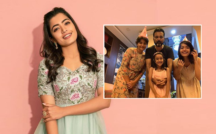 Rashmika Mandanna Shares An Adorable Family Picture On Occasion Of Sister Shiman's 7th Birthday
