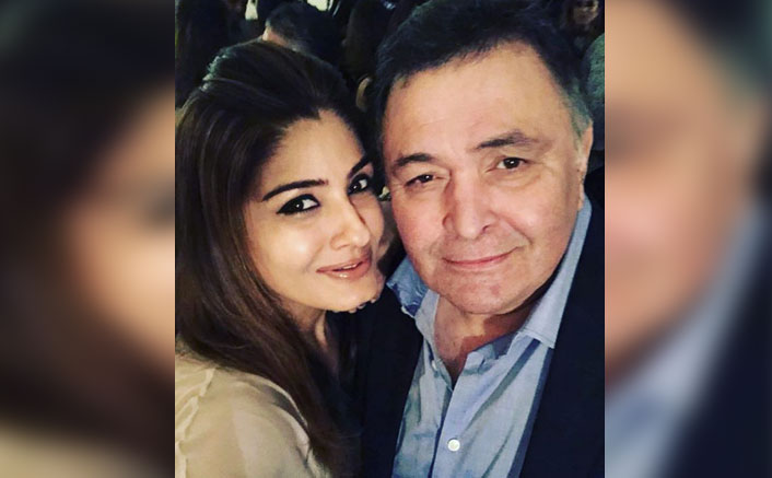 """Raveena Tandon Shares Her LAST Memory With Rishi Kapoor, Adds """"My Dad Has Been Feeling Very Down"""""""