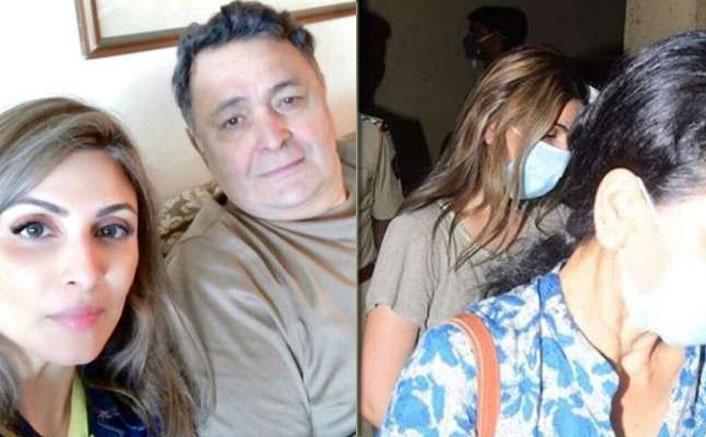 PICS: Rishi Kapoor's Daughter Riddhima Kapoor Reaches Mumbai To Be With Mom Neetu Kapoor & Family