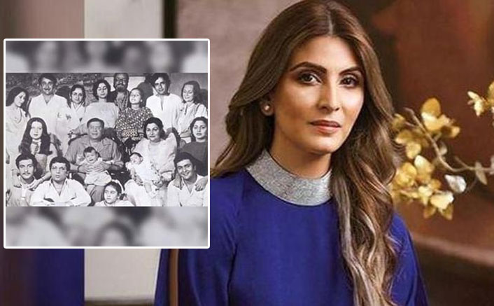 Riddhima Kapoor Brightens Our Day With This Black & White 'Kapoor' Family Portrait