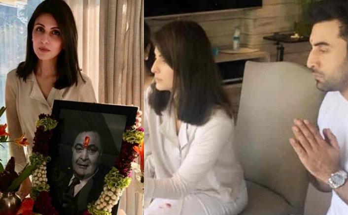 Rishi Kapoor Prayer Meet: Alia Bhatt, Karisma Kapoor Join Ranbir Kapoor & Riddhima Kapoor