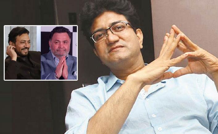 "Prasoon Joshi On Irrfan Khan & Rishi Kapoor's Demise: ""It's Sad That They Went Pretty Young"""