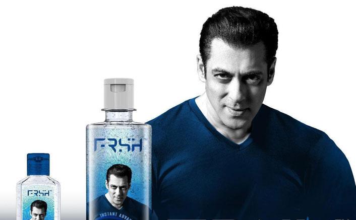 Salman launches grooming care brand, says 'Sanitisers aa chuke hain'