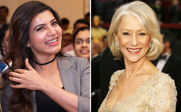 """Samantha Akkineni Takes Acting Lessons From Helen Mirren, Says, """"I Am Going To Be A Much Better Actor Now"""""""