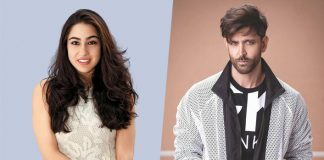 *Sara Ali Khan confesses that she would love to work with Hrithik Roshan*