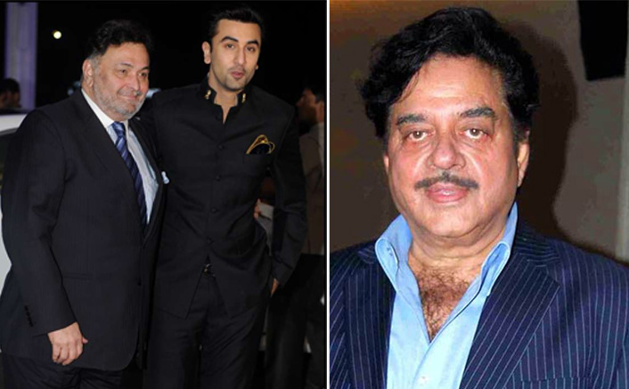 """Shatrughan Sinha: """"Ranbir Kapoor Has Big Shoes To Fill, Can't Be Compared With Rishi Kapoor"""""""
