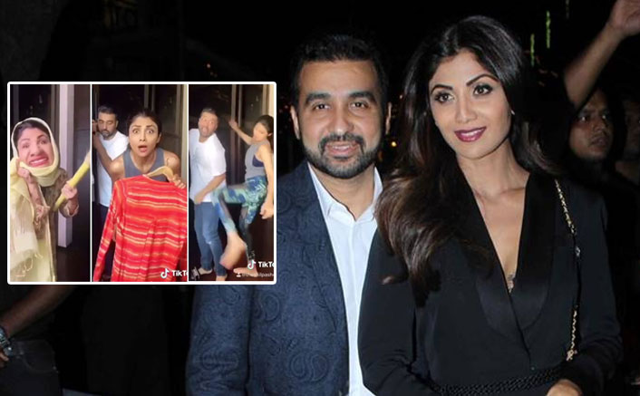 Shilpa Shetty 'Beats Up' Hubby Raj Kundra For Kissing Their House Maid In This Funny TikTok Video, WATCH