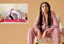 Sobhita Dhulipala is taking 'baby steps' in yoga