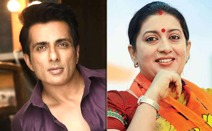 "Sonu Sood Receives Applause From Smriti Irani: ""Kindness You Have Displayed Makes Me Prouder"""