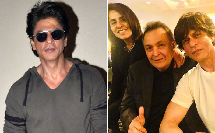 Shah Rukh Khan REVEALS The First Compliment Given By Rishi Kapoor To Him