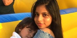 Suhana Khan gets cute birthday card from kid brother AbRam