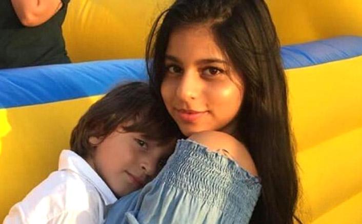Suhana Khan Gets 'World's Best Sister Card' From Little AbRam