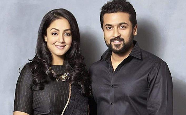 Tamil superstars Suriya and Jyotika attend their first ever virtual fan meet for Ponmagal Vandhal