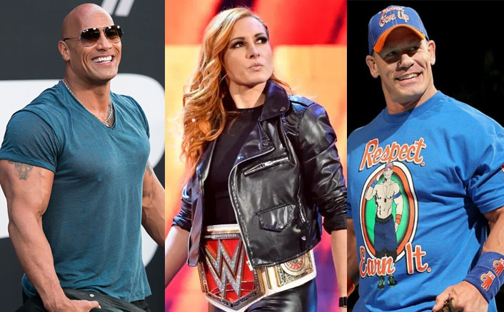 The Rock & John Cena Helps Becky Lynch With Her Hollywood Career