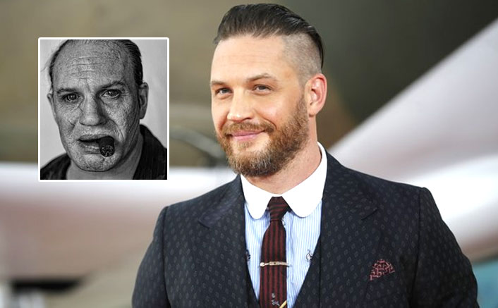 Tom Hardy Transforms Himself To Capone & THIS BTS Photo Will Leave You SHELL SHOCKED!