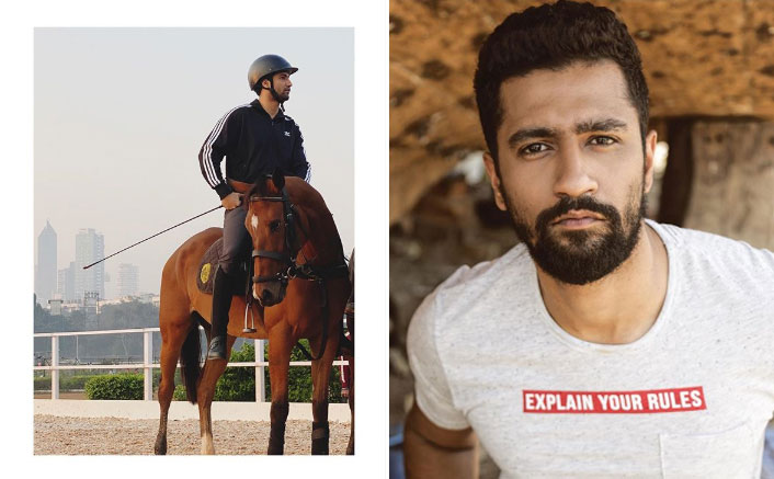 Vicky Kaushal Reminisces His Horse Riding Days In A Beautiful Throwback Photo