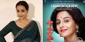 Post Gulabo Sitabo, Now Vidya Balan's Shakuntala Devi To Release Digitally