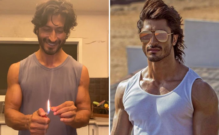 Vidyut Jammwal trick to cut a lemon with a cigarette butt